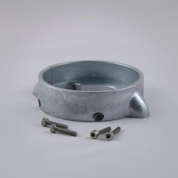 Zinkanode (Ring) geteilt für Volvo Penta Saildrive 120S Adapterinstallation